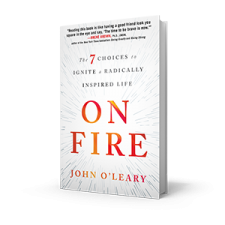 On Fire Book by John O'Leary