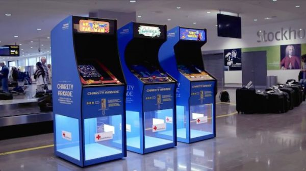 Swedavia-arcade-games-airport-YouTube-Swedavia