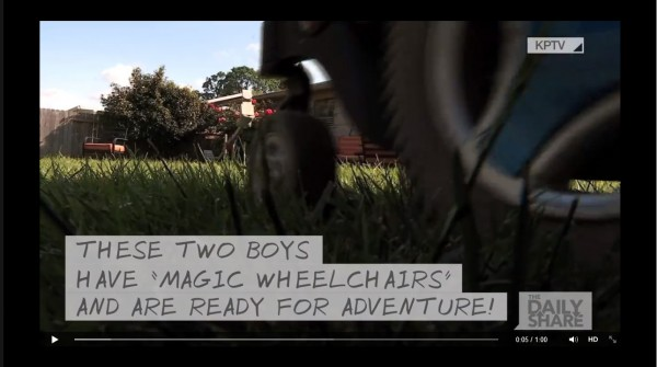 Magic Wheelchairs Are Making Dreams Come True