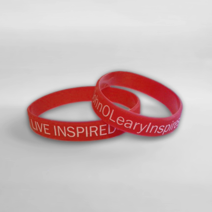 Live Inspired. Wristband
