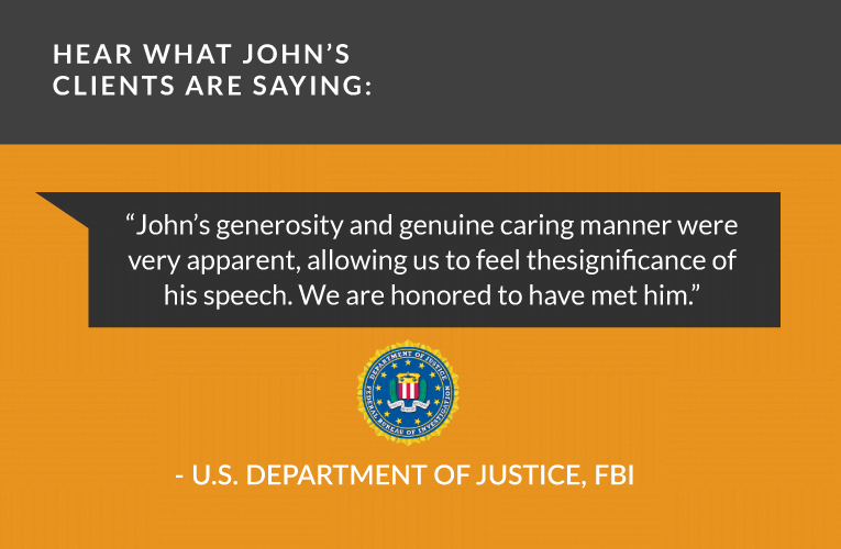 John's generosity