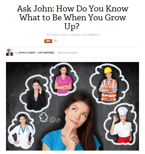 how to ask john green a question