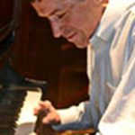 John O'Leary at the piano