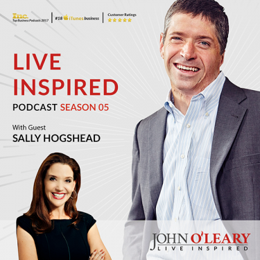 Sally Hogshead and John O'Leary