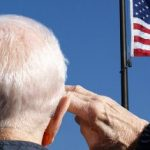American Dream, Veteran Saluting Flag