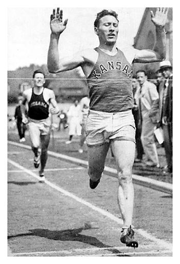 Glenn Cunningham Runner