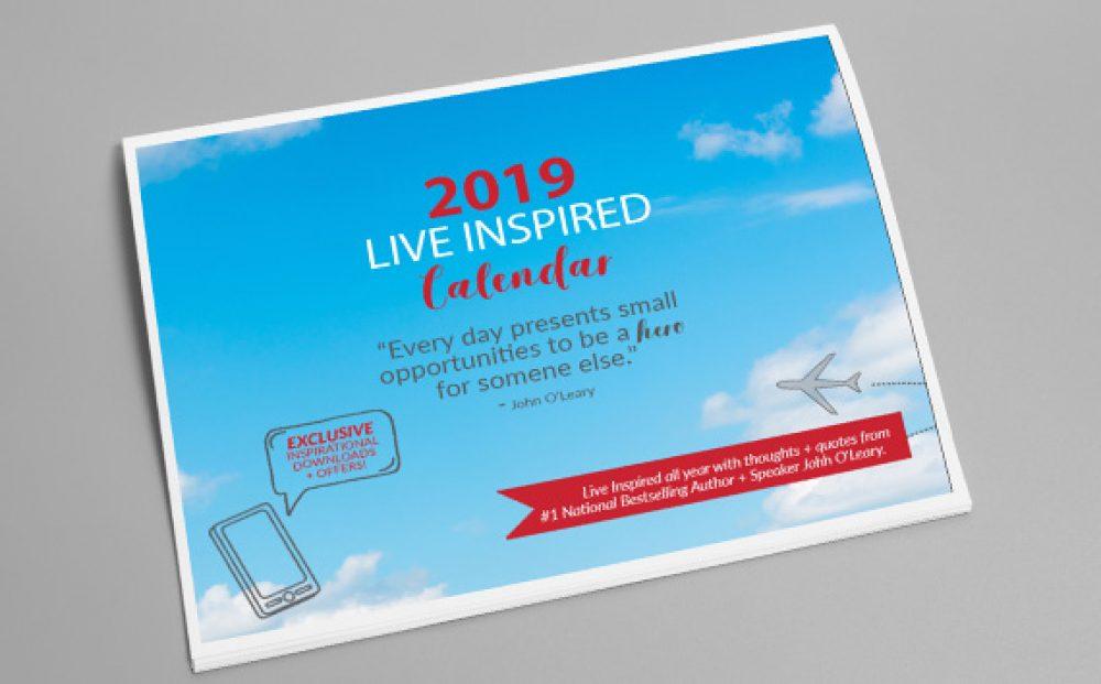 2019 Live Inspired Calendar