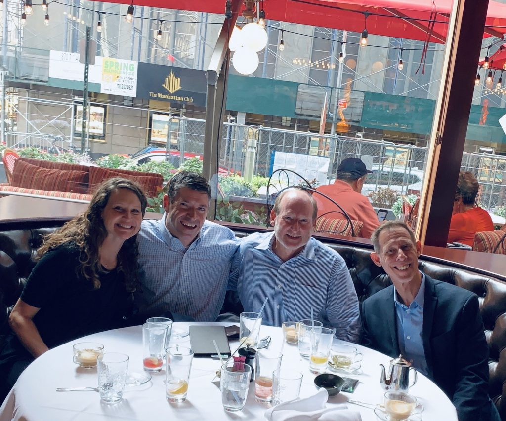 John meets the Penguin Random House team