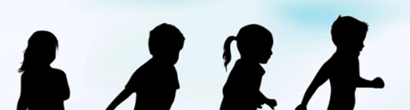 shadow of kids