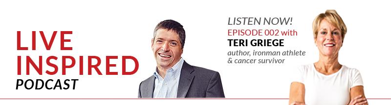 Teri Griege, author, ironman athlete & cancer survivor
