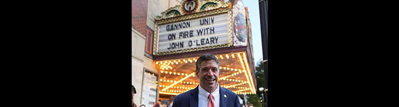 john o'leary at gannon university