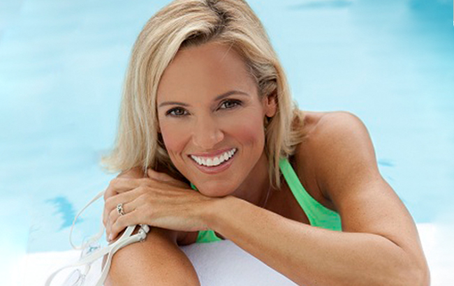 Dara Torres 12-time Olympic swimmer